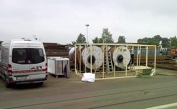 Asbestsanierung Kessel 4